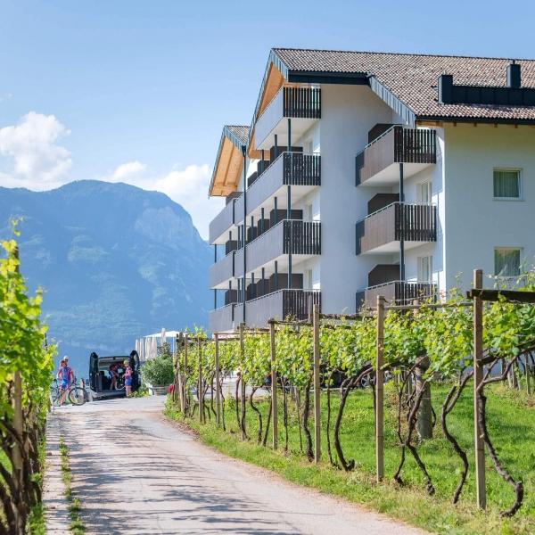 Start zur Genuss Radtour vom Hotel Vineus © Compusol.it - Mitterer Zublasing Dietmar