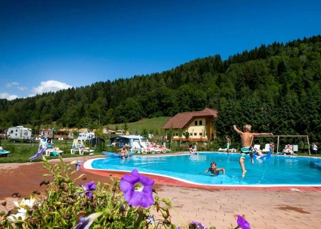 Pool vom Camping Bella Austria