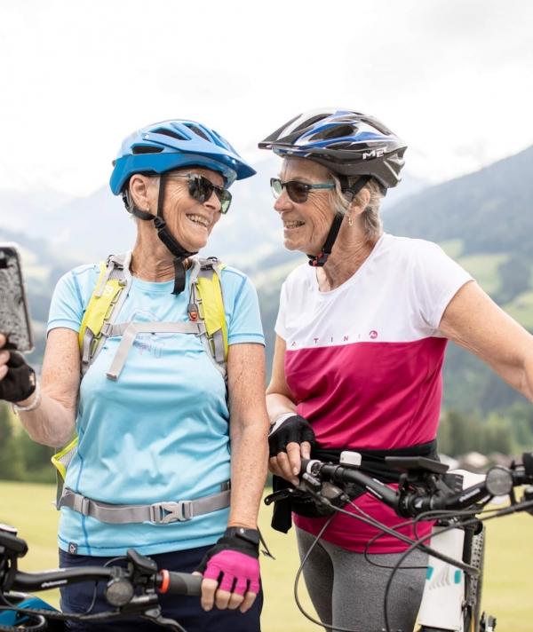 E-Bike Gauditour im Oktober © Alpbachtal Tourismus - G. Griesssenböck