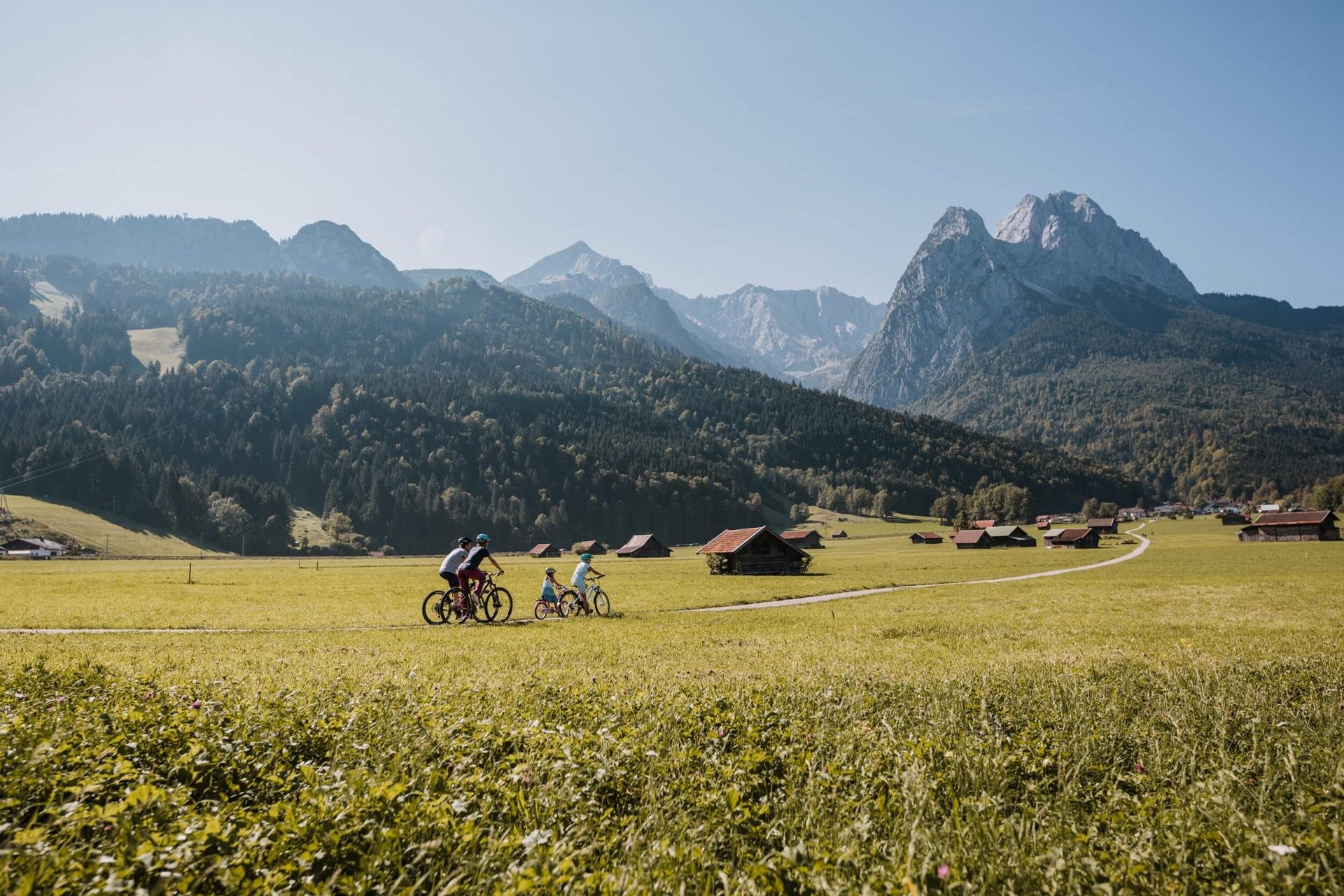 Genussradfahren in Garmisch Partenkirchen © ZABT Thomas Marzusch