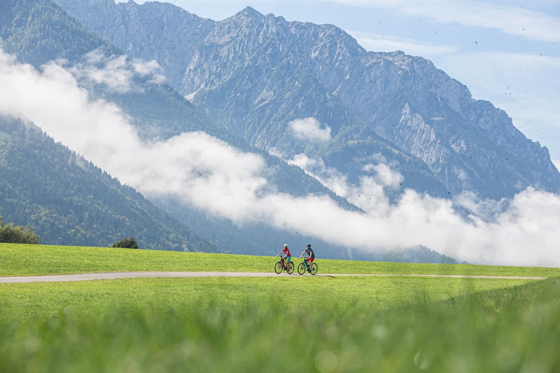 Gemütliche Radtour im Kaiserwinkl in Tirol