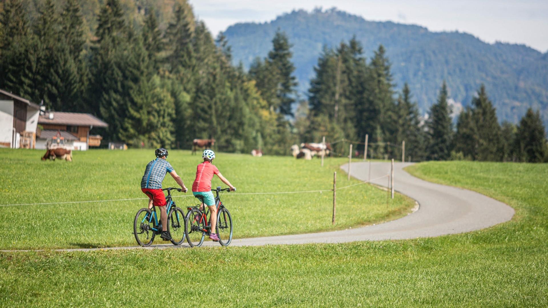 Genuss-Radfahren in Tirol