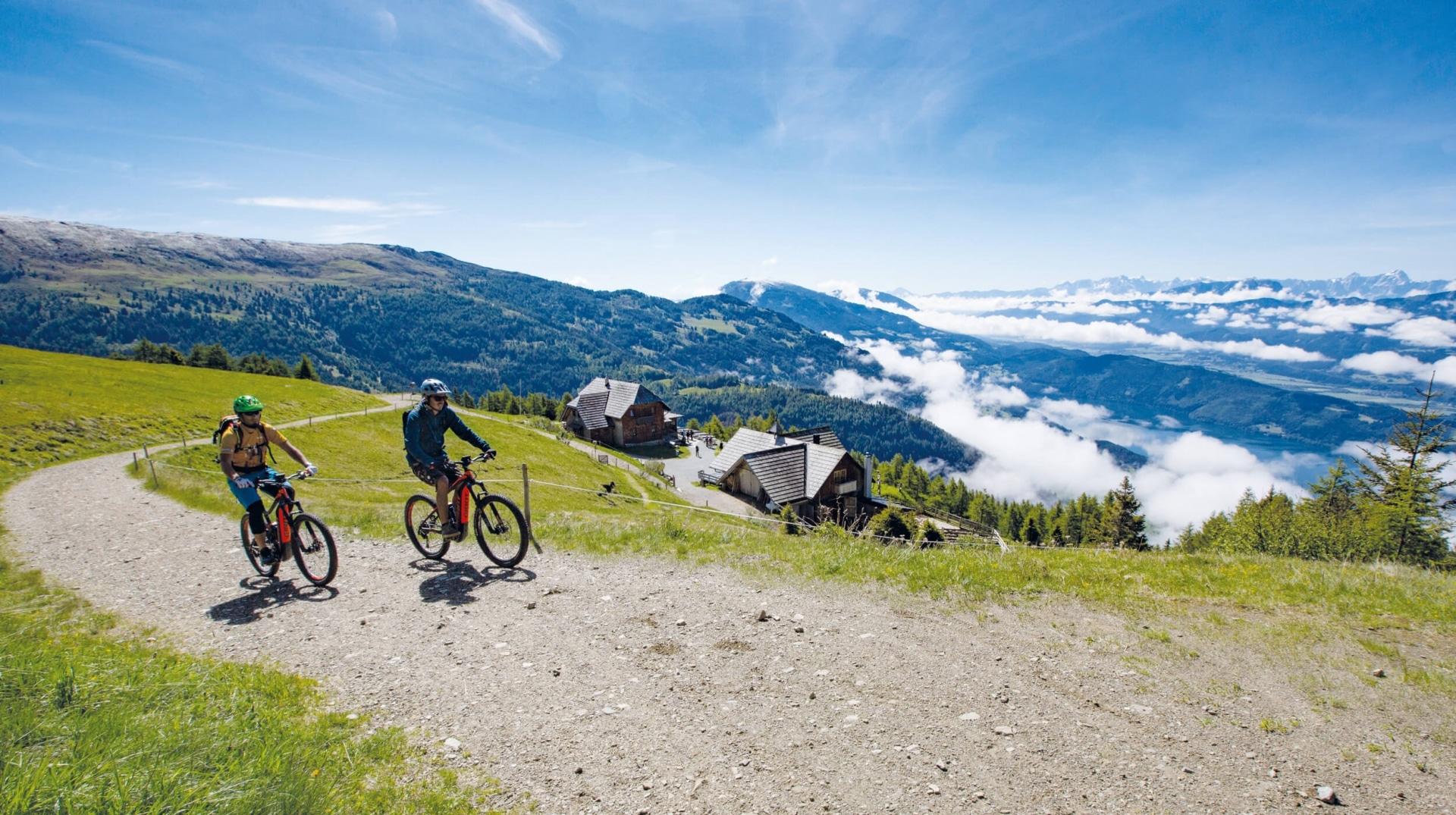 E-Bike Tour in der Region Millstätter See © Joerg Reuther