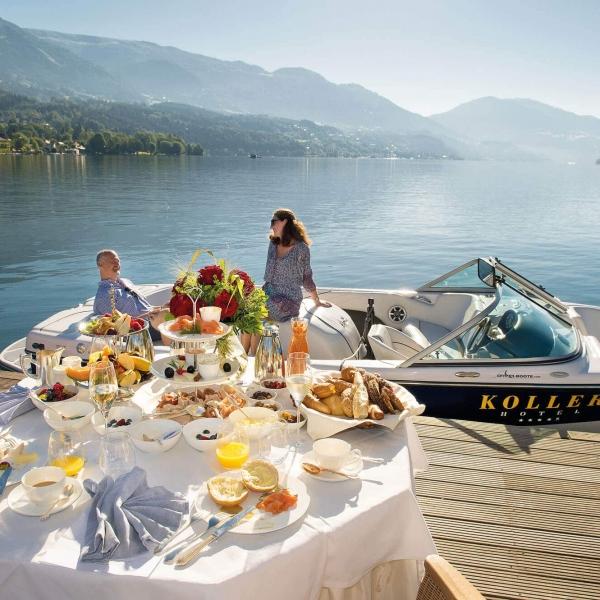 Frühstück am See - Hotel KOLLERs in Seeboden © GAS - Rupert Mühlbacher