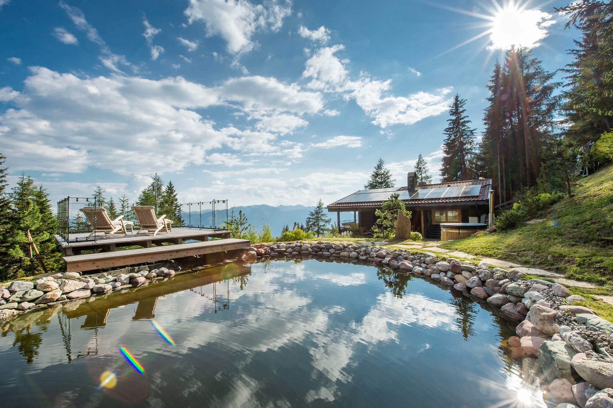 Naturbadeteich - Hotel KOLLERs in Seeboden © GAS - Rupert Mühlbacher