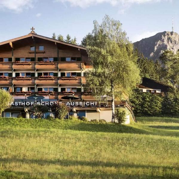 Hotel zur schönen Aussicht in St. Johann in Tirol