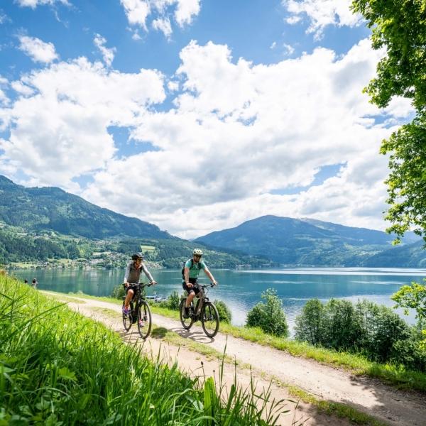 Genuss Radtour entlang des Millstätter Sees © Gert Perauer