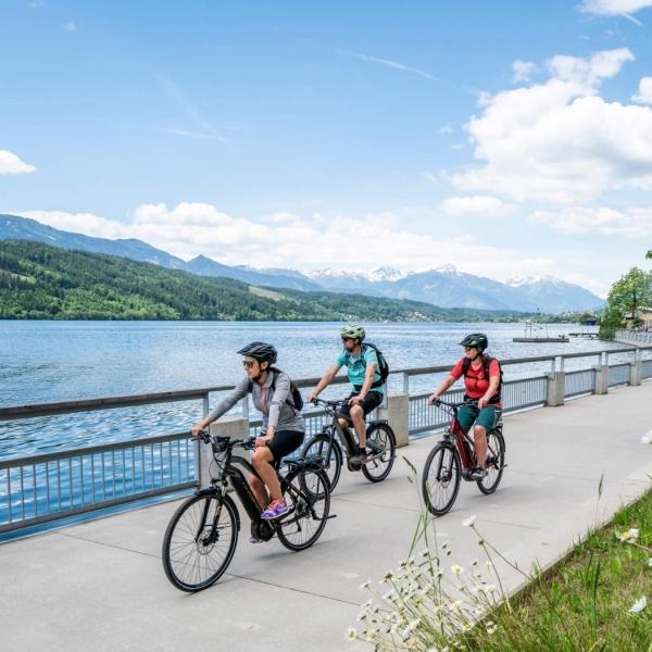 Genuss Radfahren entlang des Millstätter Sees © Gert Perauer