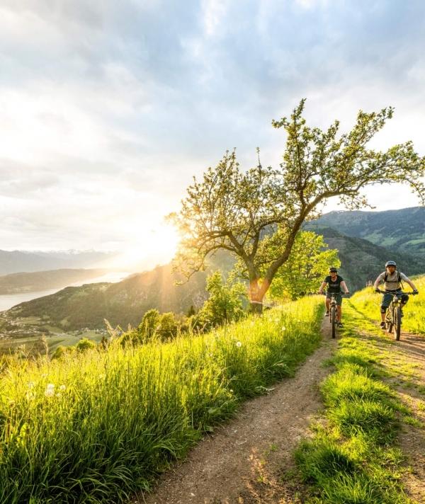 Radfahren in der Region Millstätter See © Gert Perauer