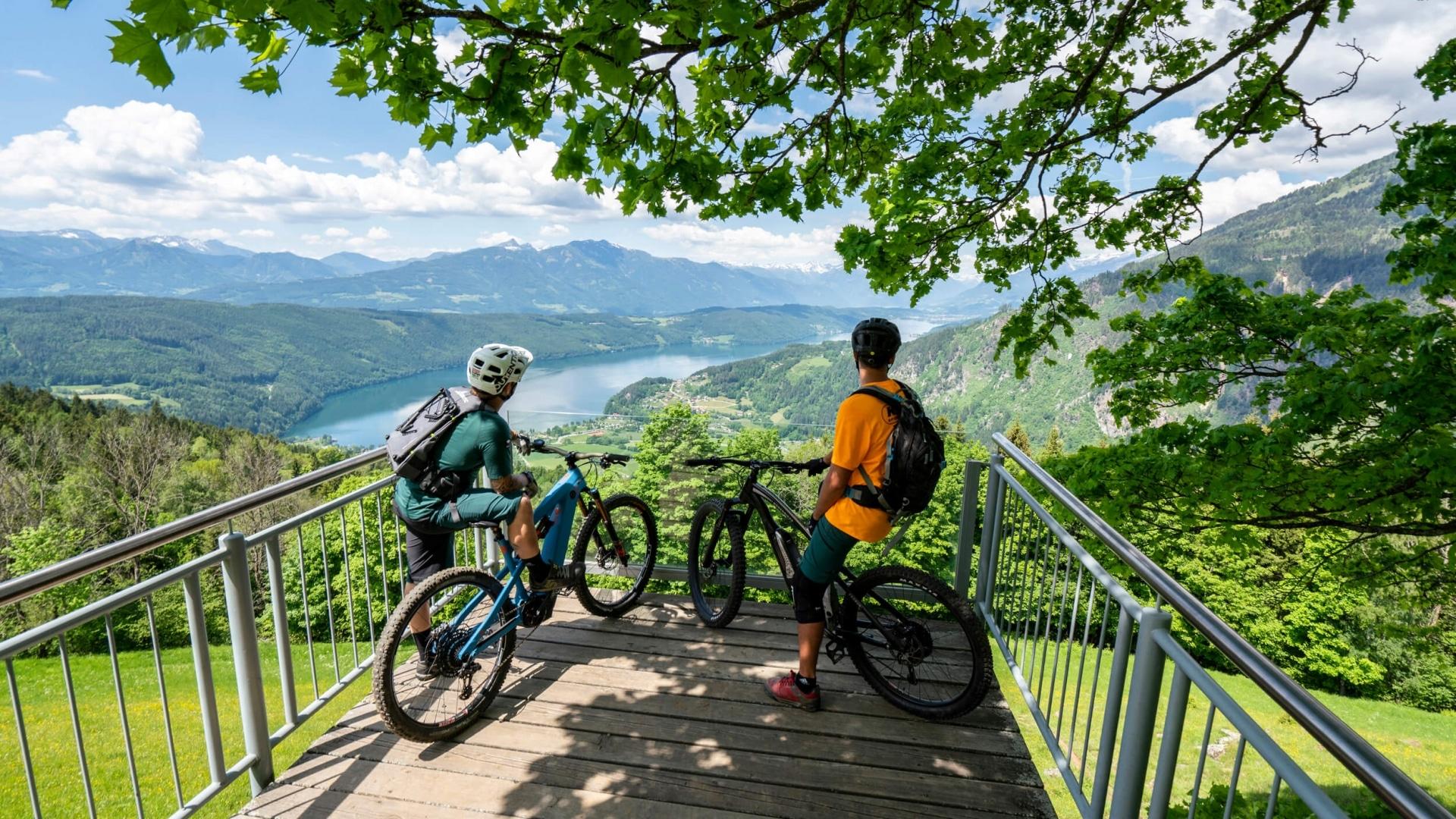Radfahren am Millstätter See © Gert Perauer