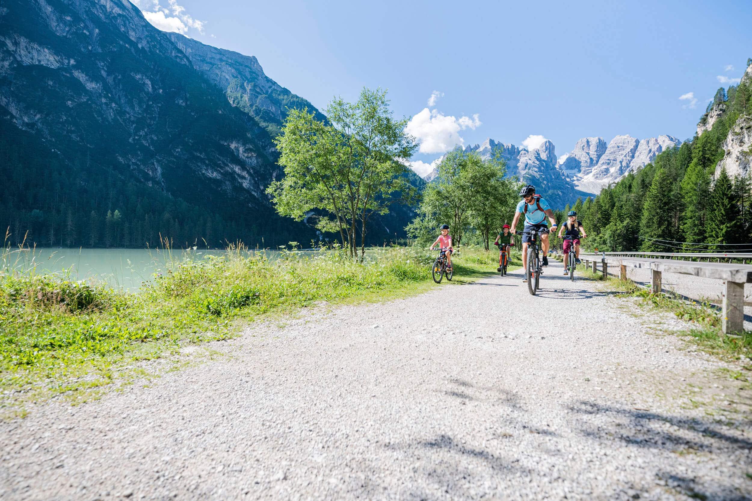 Genuss Radtour mit der Familie © IDM Südtirol - Harald Wisthaler