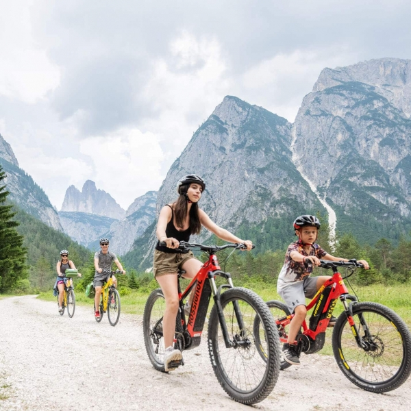 FunActive Radtour mit der Familie in Cortina © Harald Wisthaler