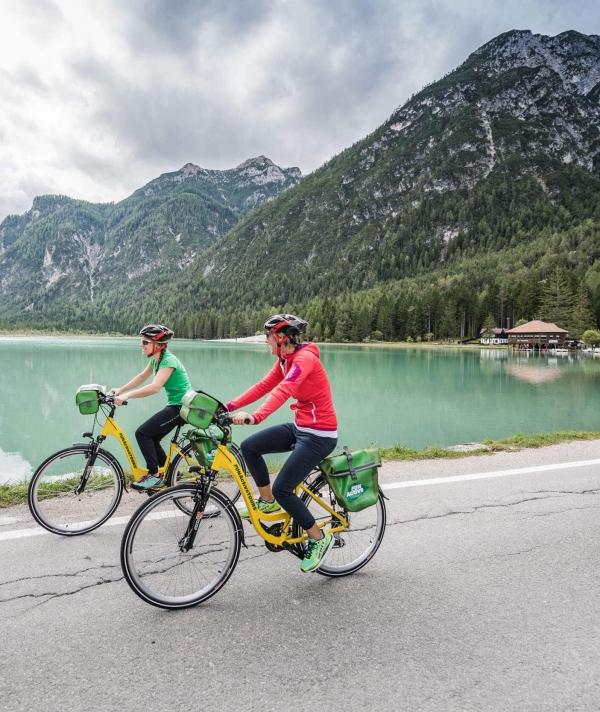 Genuss Radfahren mit FunActive in Niederdorf © Harald Wisthaler