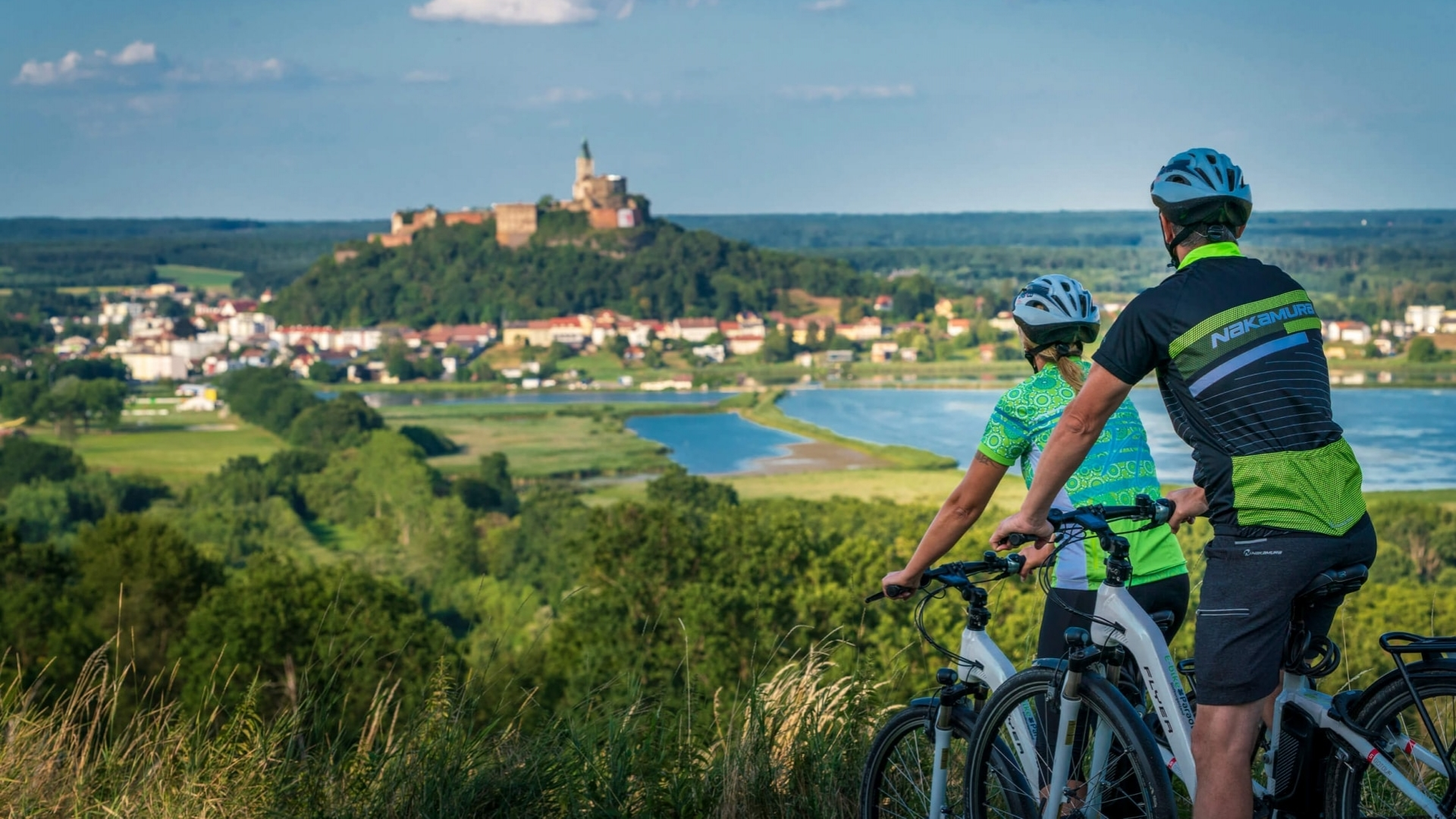Radfahren in Rosenberg © TV Oberwart Fotografie Robert Brünner