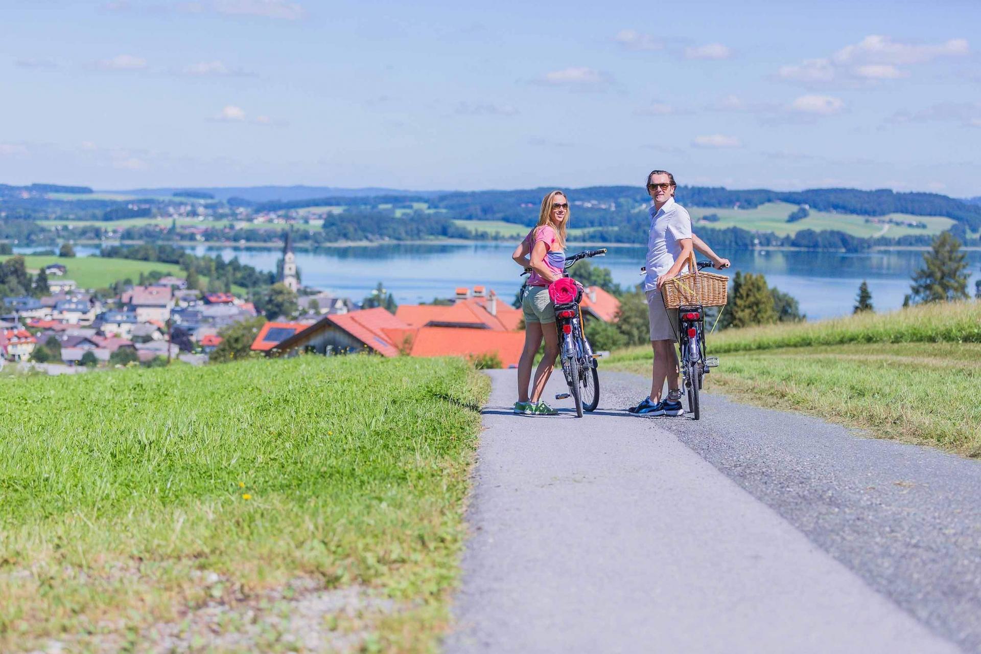 Radtour nach Mattsee Buchberg © Salzburger Seenland Velodrom