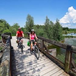 Radfahren im Salzburger Seenland © Salzburger Seenland Velodrom