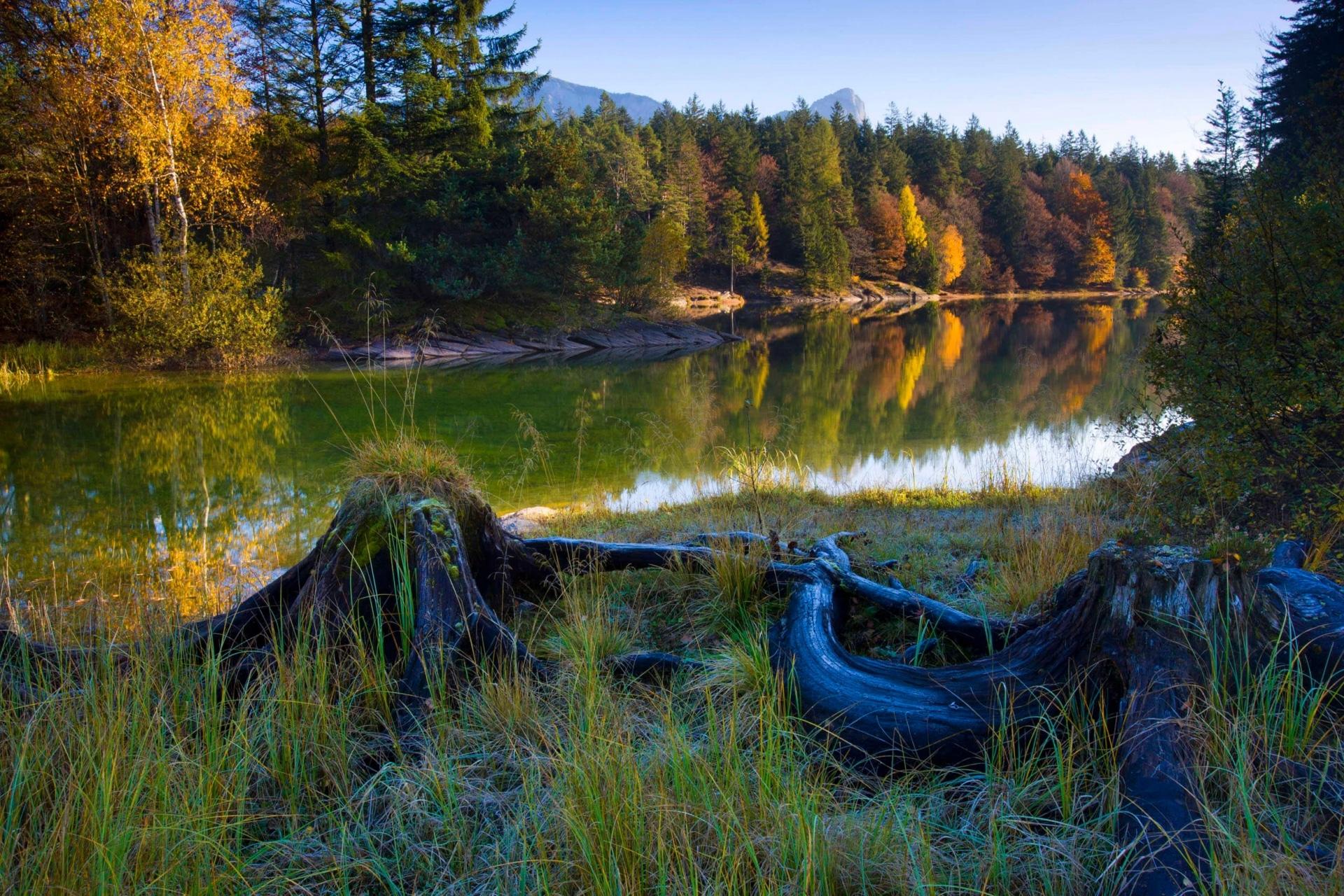 Chapfensee im Heidiland © Roland Gerth