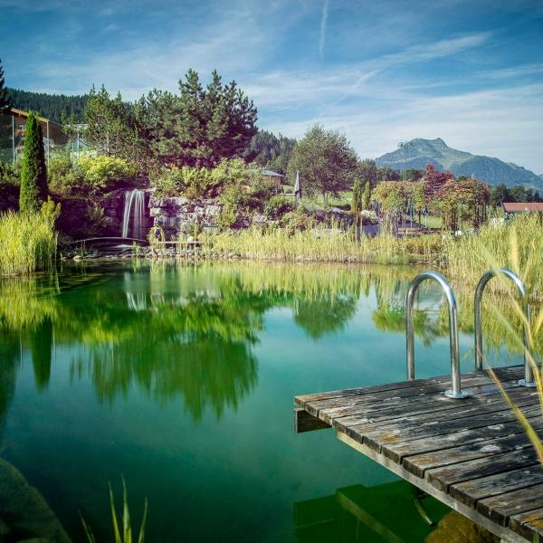 Schwimmteich vom Hotel Kitzspitz © Florian Mitterer