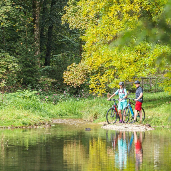 Radfahren im Kaiserwinkl in Tirol