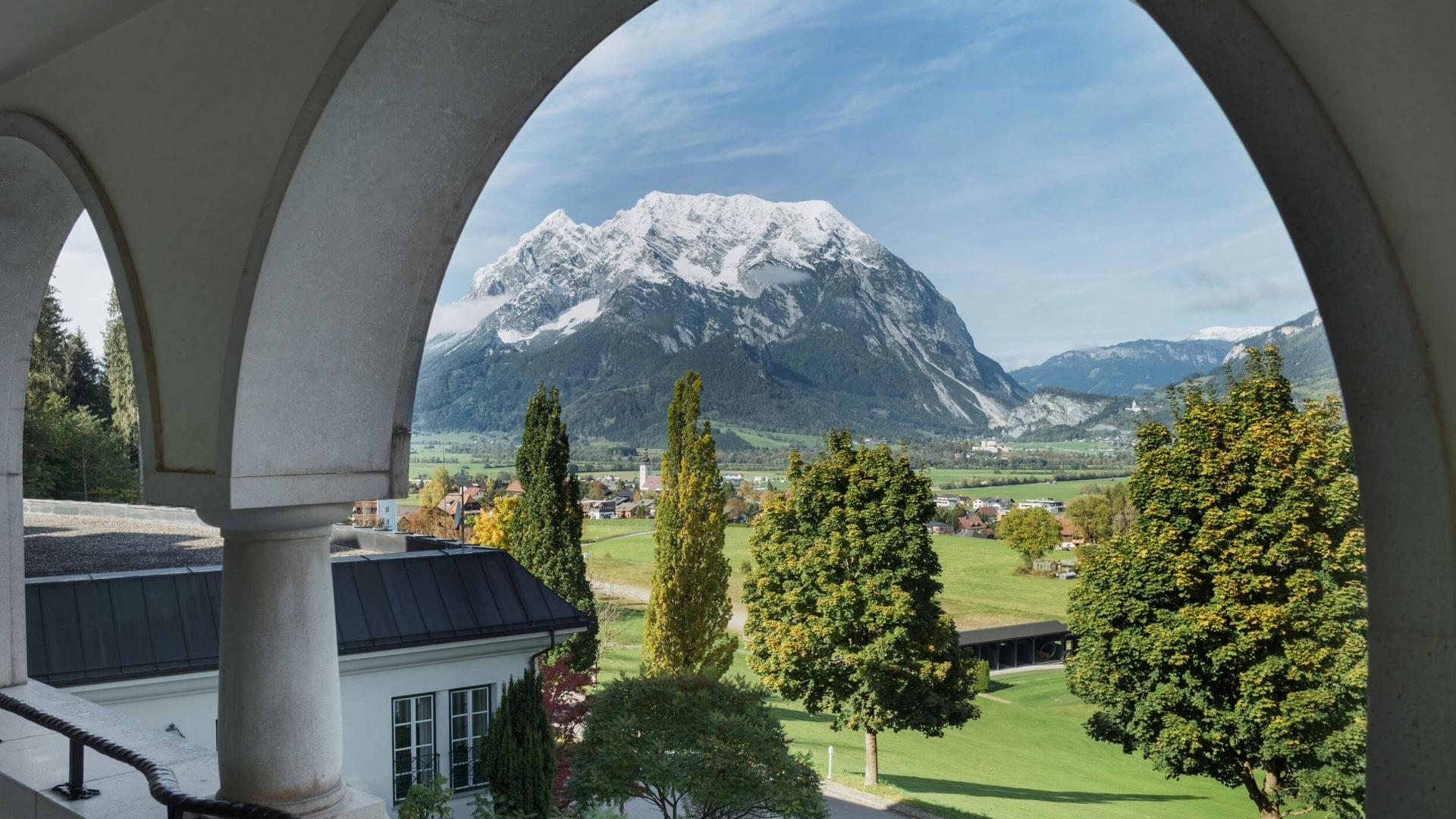 Ausblick Grimming © Schloss Pichlarn - Richard Schabetsberger