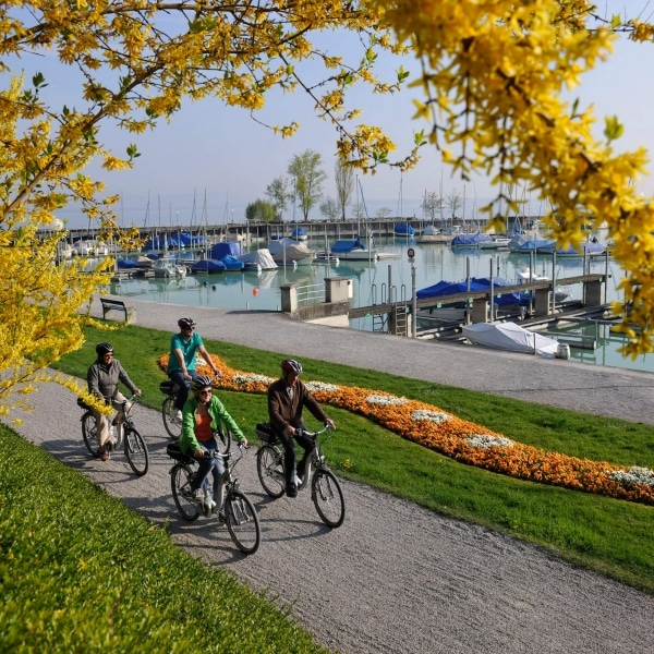 Bodensee Romanshorn Hafen © Thurgau Tourismus