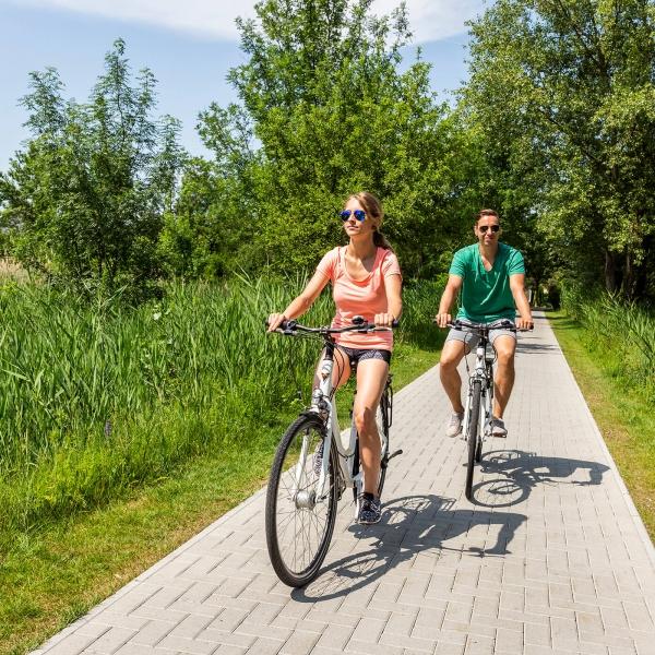 Fahrradfahren © VILA VITA Pannonia