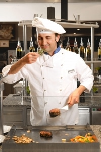 Ludwig - chef de cuisine of the Aldiana Club Salzkammergut