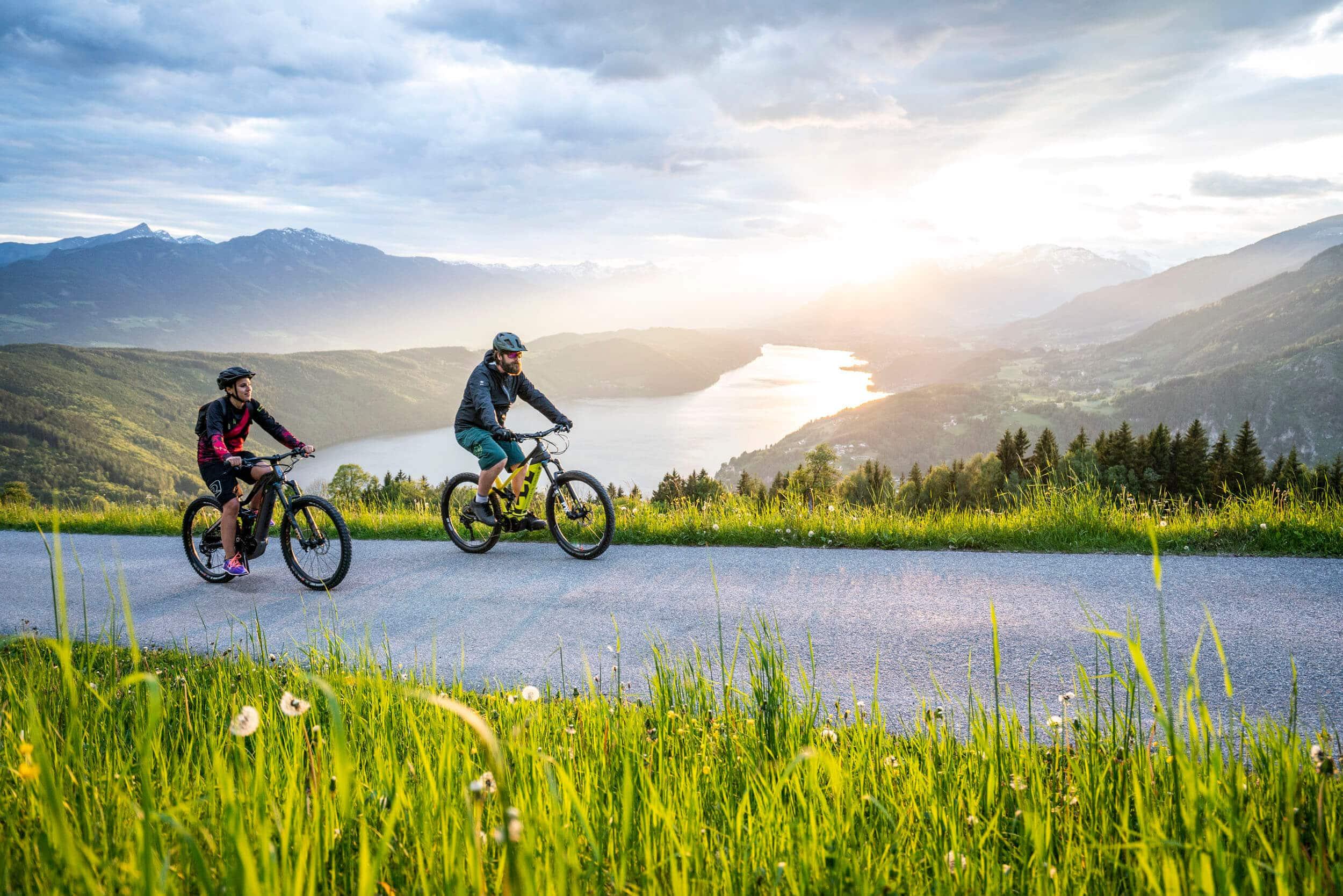 Radfahren am Millstätter See © Millstätter See MTG - Gert Perauer