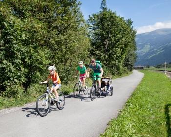 Zillertal Radweg © Zillertal Tourismus - Blickfang Photographie