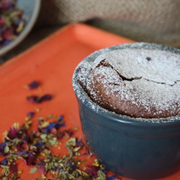 Küchlein mit flüssigem Kern © Chocolaterie Amelie