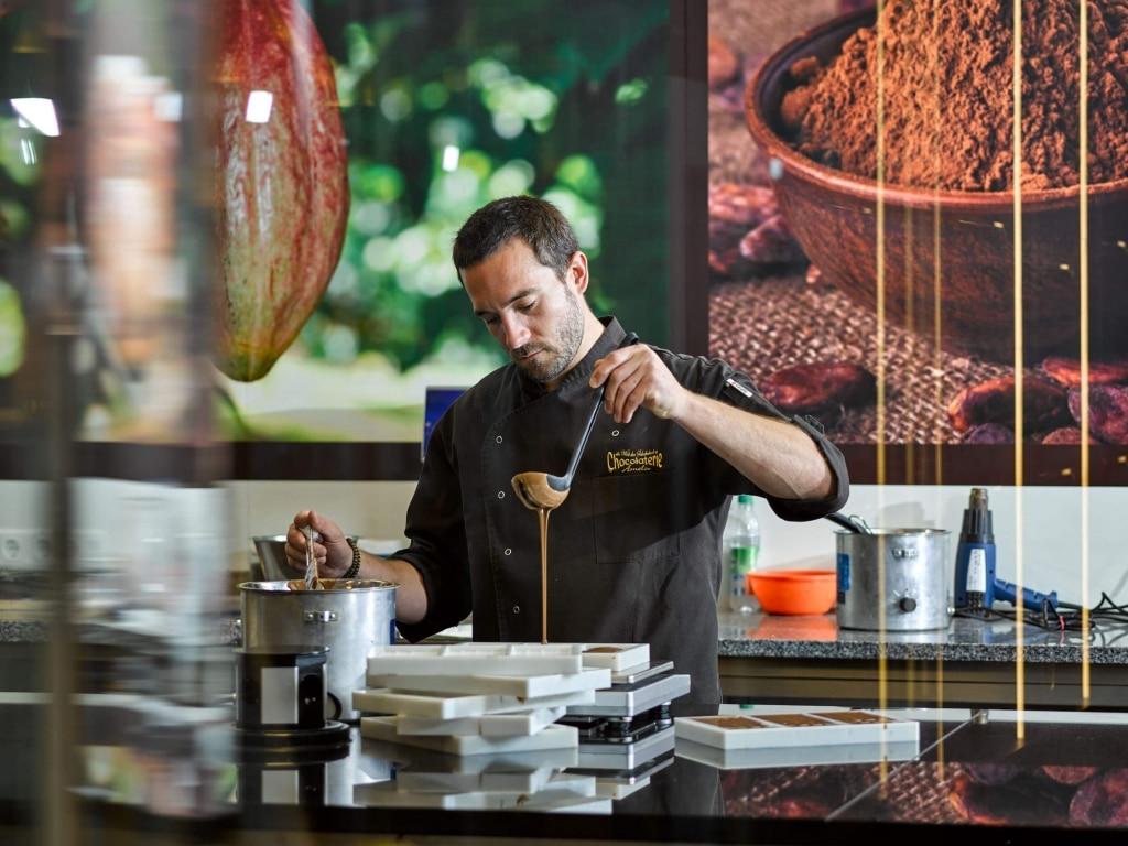 Schokoladenherstellung © Chocolaterie Amelie - Marc Gilsdorf