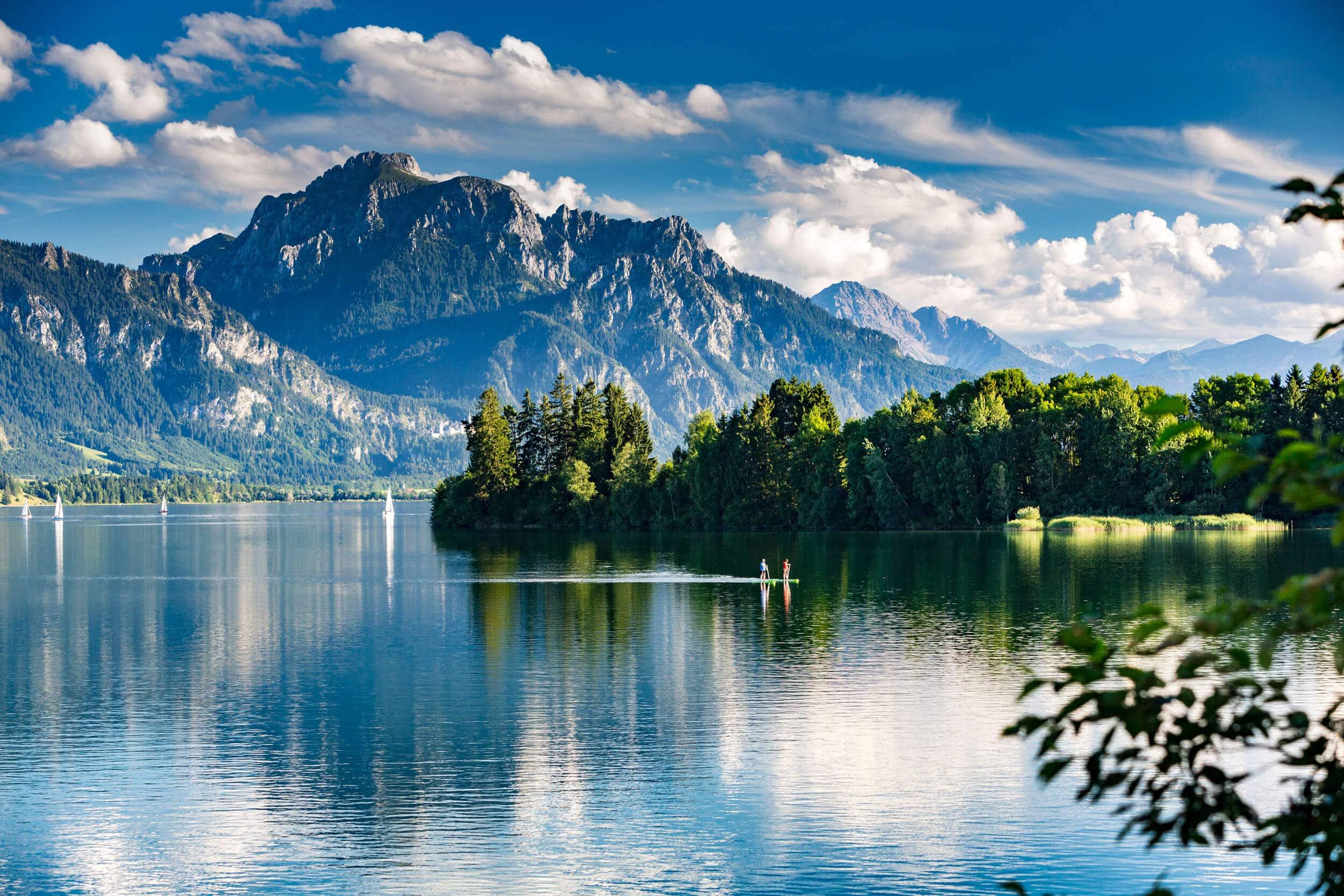 Forggensee - Allgäu © Shutterstock - moreimages