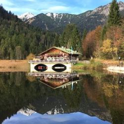 Berggasthof Pflegersee © GaPa Tourismus GmbH