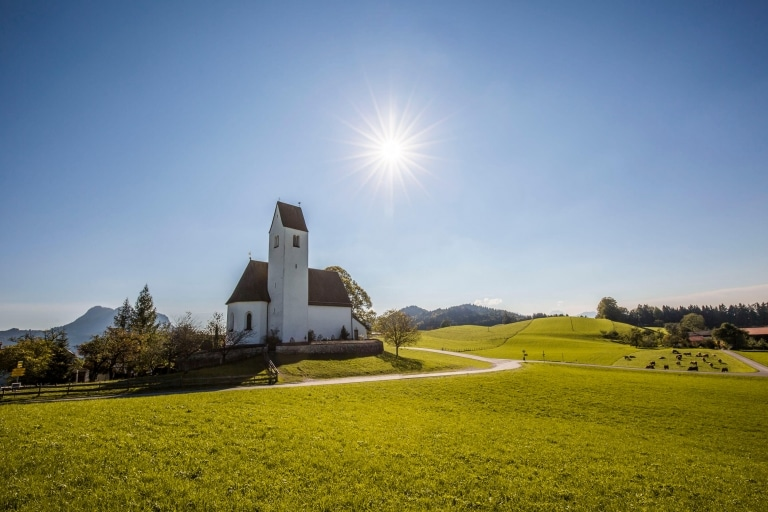 Rad 8 bei Steinkirchen am Samerberg © Chiemsee-Alpenland Tourismus