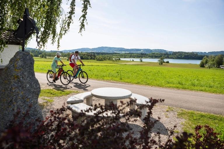 Radfahren im Salzburger Seenland © Velontour