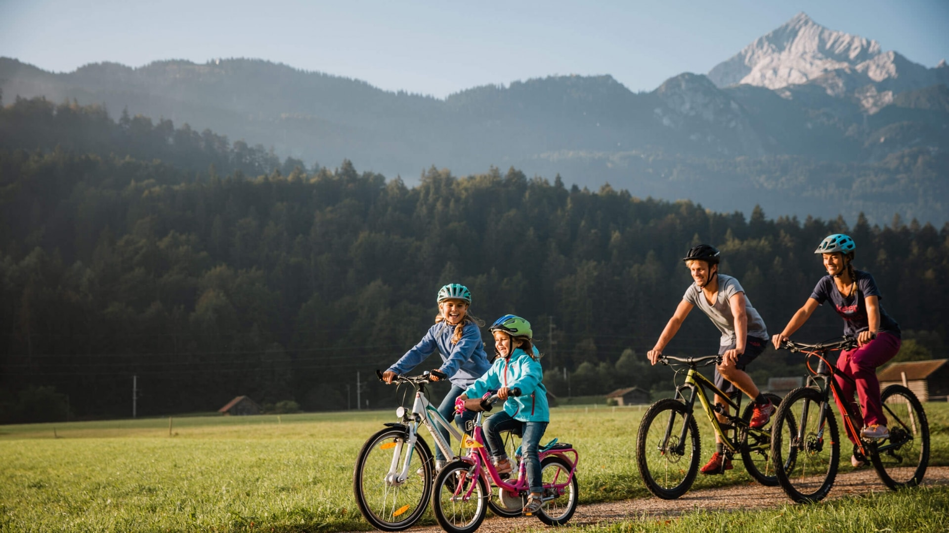 Familien Radtour in Garmisch Partenkirchen © ZABT Thomas Marzusch