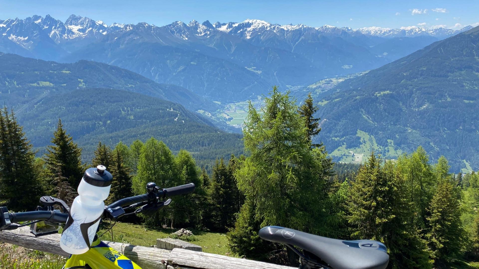 Genussradfahren im Pitztal in Tirol