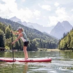 Wassergenuss am Riessersee © GaPa Tourismus GmbH - Christian Stadler