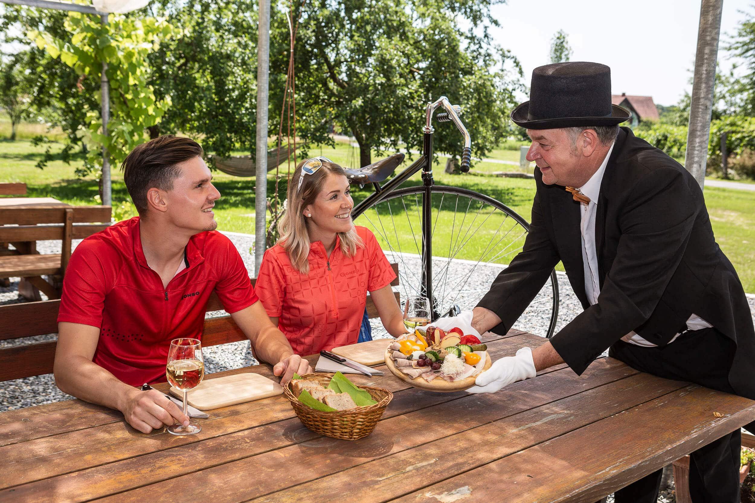 Genuss & Kulinarik mit dem RAD-Butler © Velontour