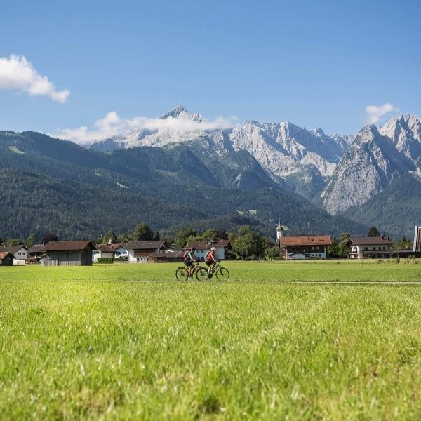 Fahrrad Urlaub in Garmisch Partenkirchen © Velontour