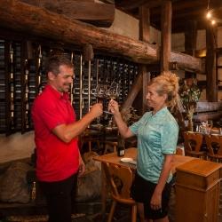 Weinverkostung im Heidiland © Velontour