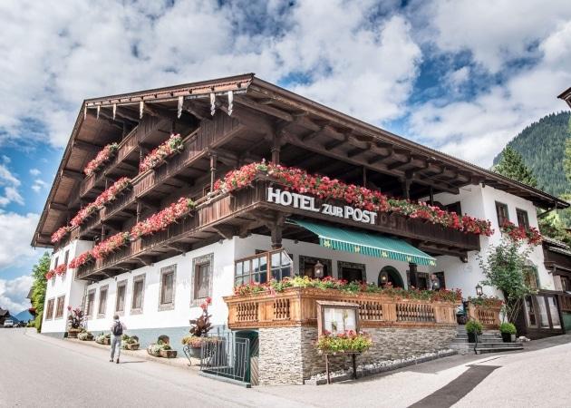 Hotel zur Post in Alpbach © becknaphoto