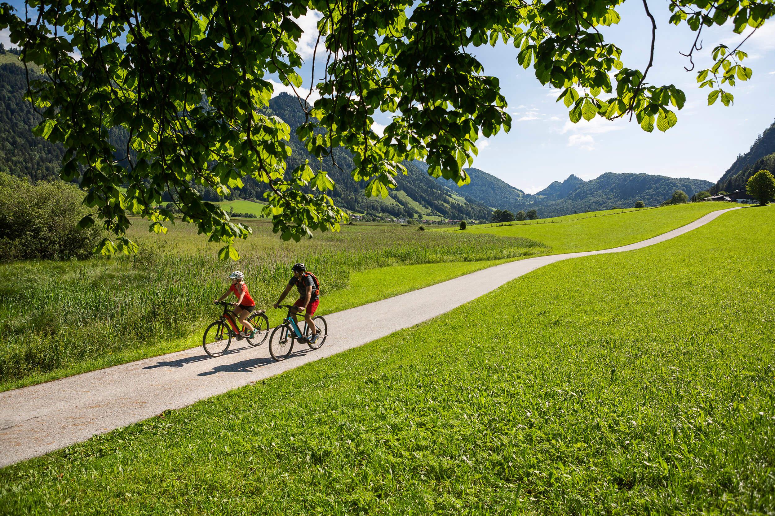 Fahrrad Urlaub im Tiroler Kaiserwinkl © Velontour