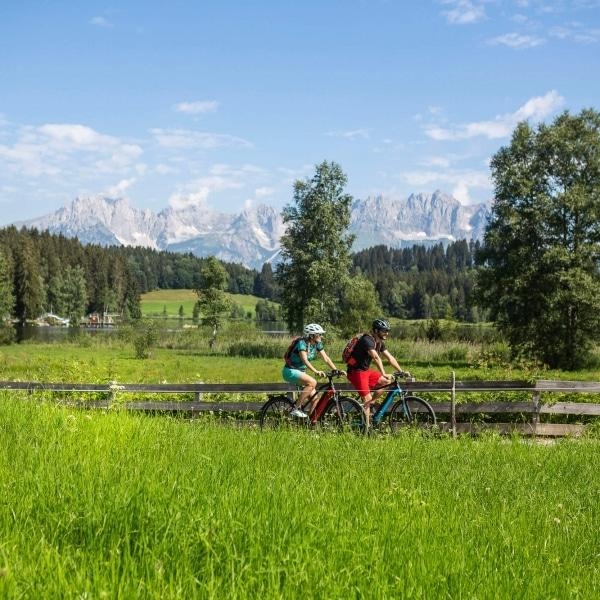 Radtour in den Kitzbüheler Alpen in Tirol © Velontour