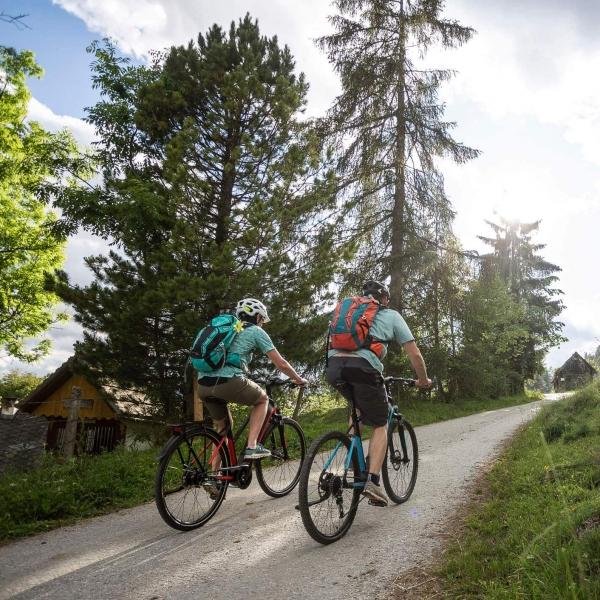 Radtour in Murau Kreischberg © Velontour