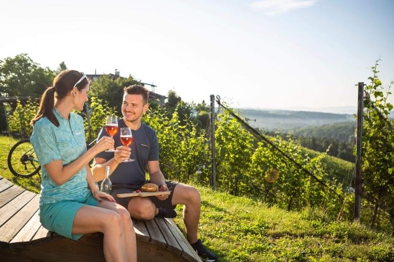 Genuss des Schilchers in der Steiermark © Velontour