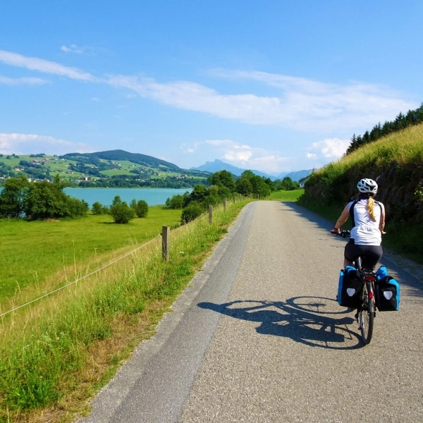 Seen Rundfahrt - Radweg Irrsee © Eurobike Radreisen