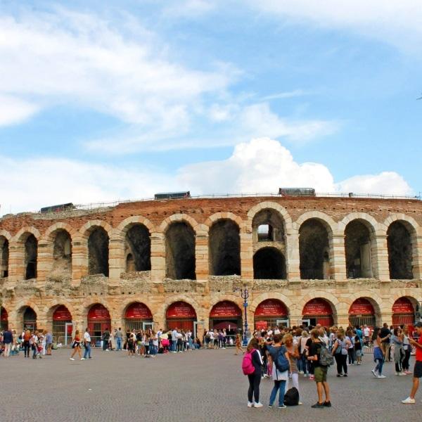 Reschensee - Verona - Amphitheater © Eurobike Radreisen
