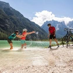 Radtour zum See im Pustertal © Velontour