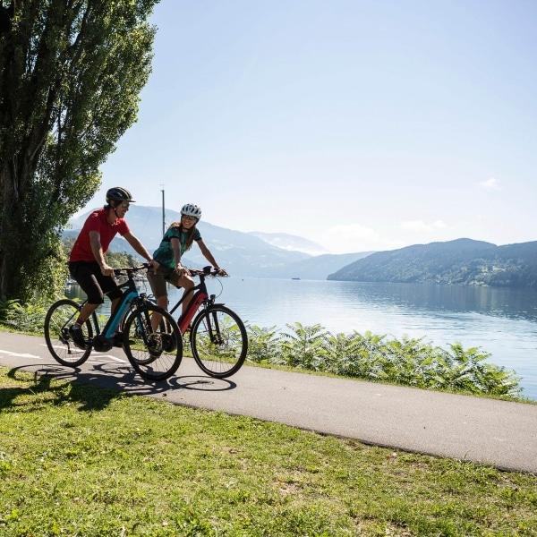 Radtour entlang des Millstätter Sees © Velontour